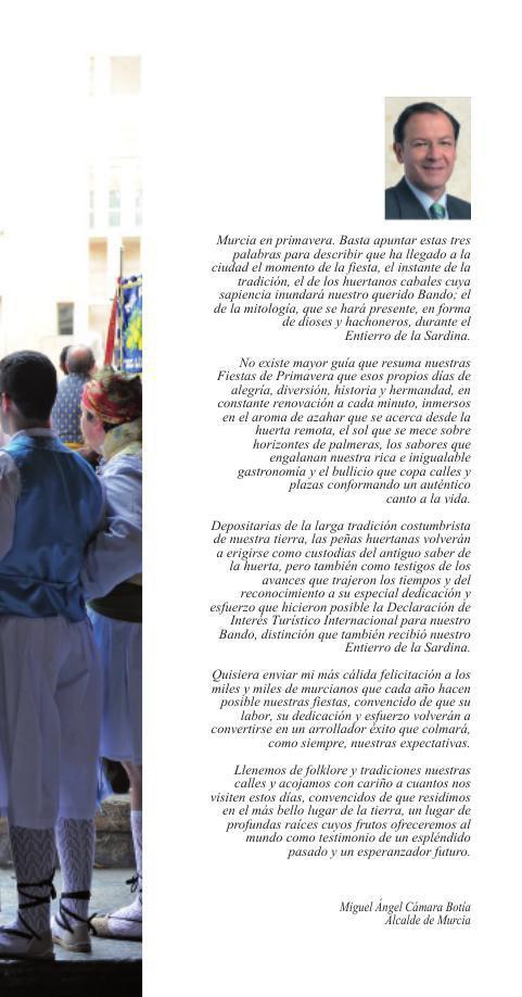 Programa Fiestas de Primavera 2014