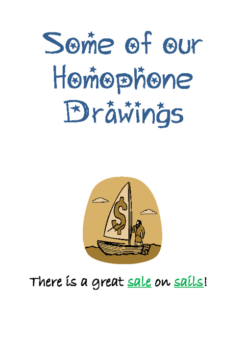 Our  Homophone Class Book