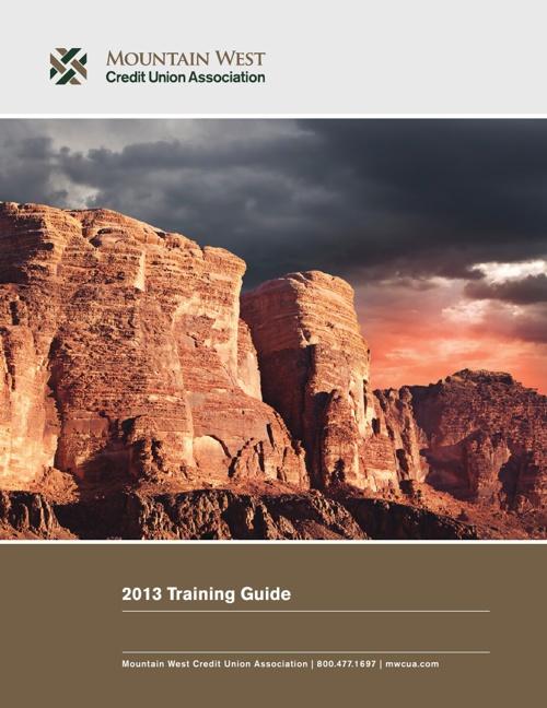 MWCUA Training Guide 2013