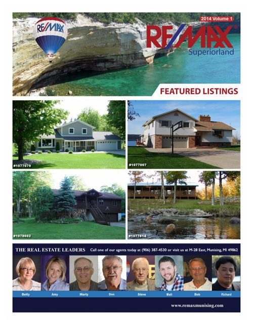 Remax Superiorland 2014 Vol1