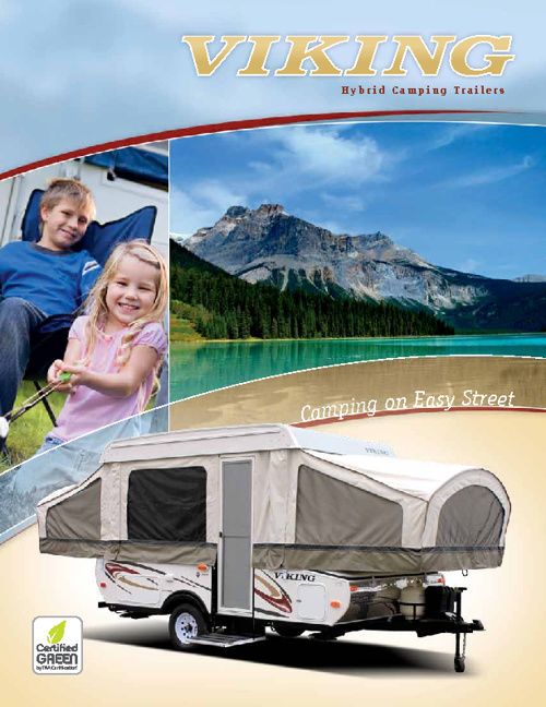 Viking Tent Trailer brochure