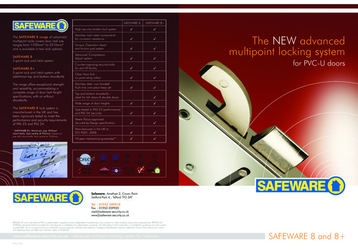 Safeware-8-Multi-Point-Door-Lock