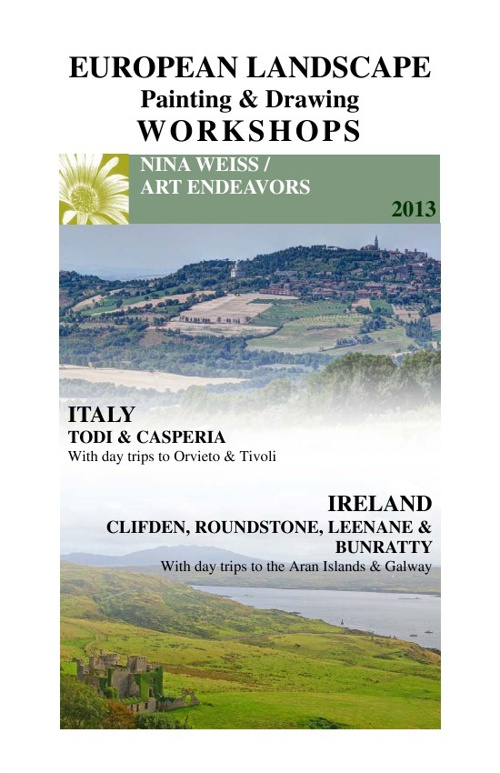 European Landscape Painting & Drawing Workshops Preview