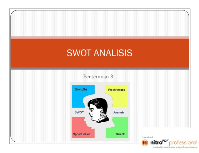 SWOT ANALISIS