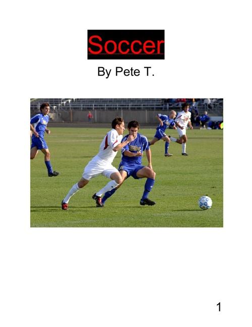 Expert Book On Soccer