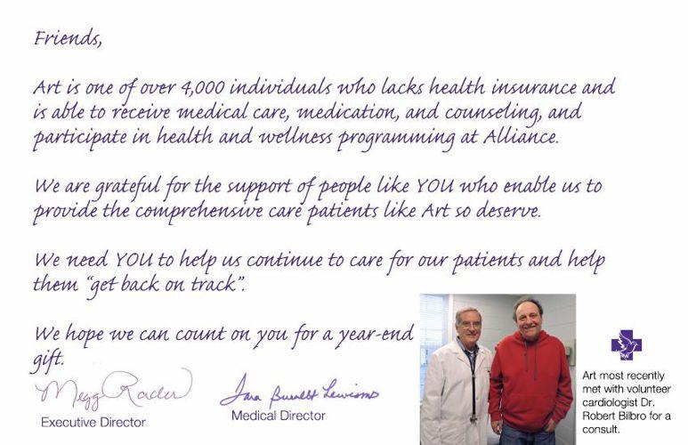 Alliance Medical Ministry:  Meet Patient Art Cornell