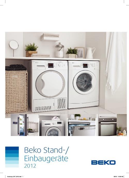 Beko Stand-/ Einbaugeräte 2012