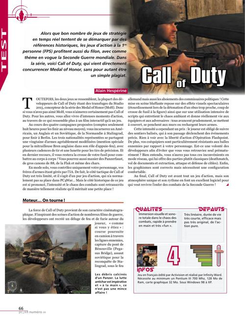 Call of Duty - Test