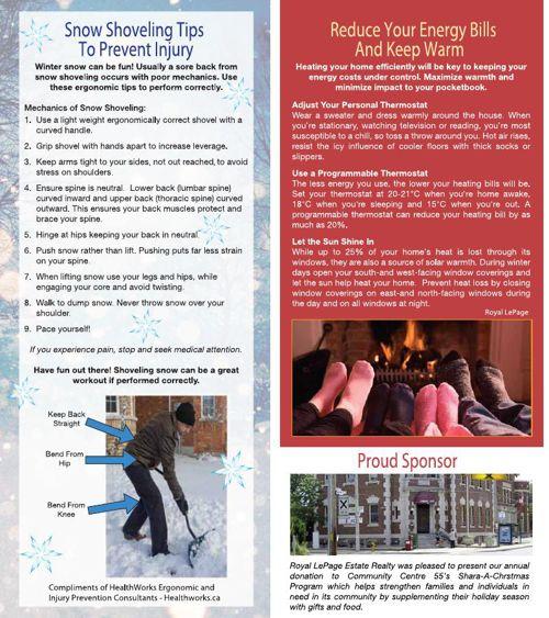 Newsletter Winter 2015 Allie Rempel
