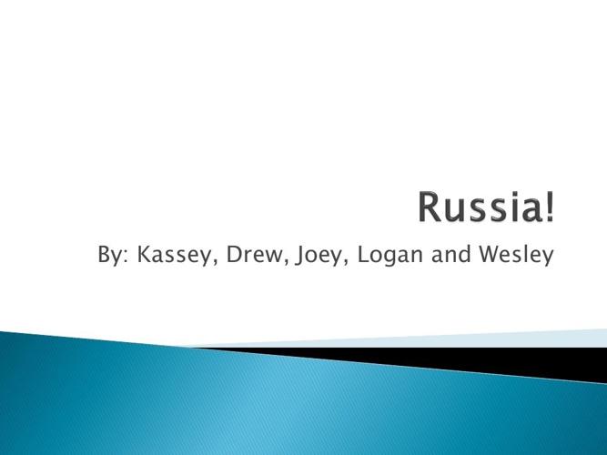 Russia!!!!