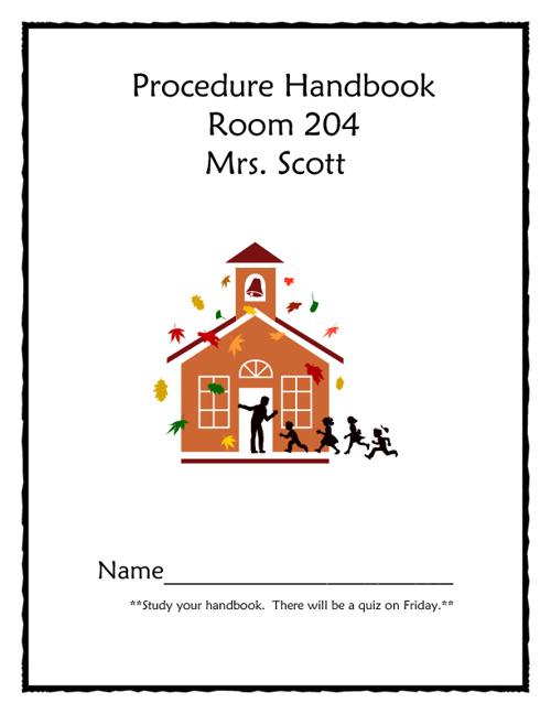 Procedure Handbook 2011-2012