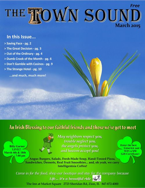 The Town Sound March 2015