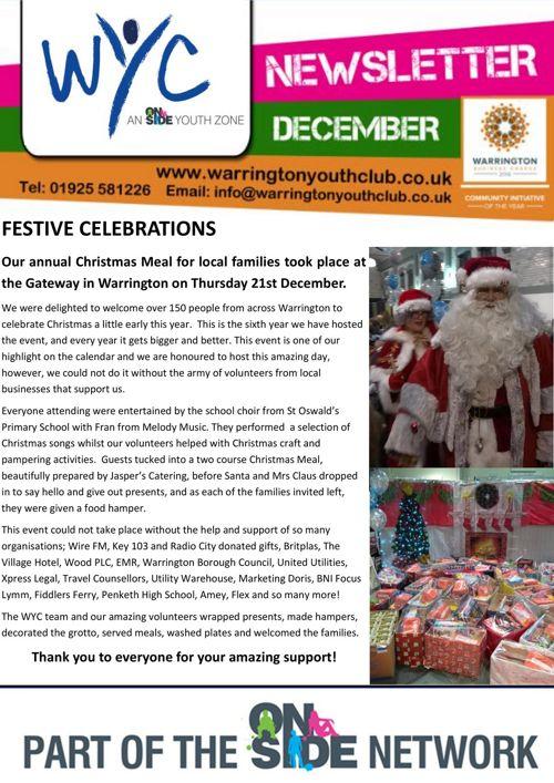 Newsletter - December 2017