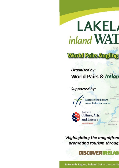 Event Programme 2012 - World Pairs Angling Championship