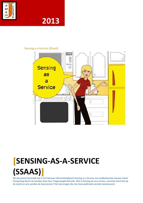 Sensing as a Service (SSaaS)