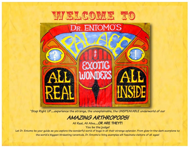 Dr. Entomo's Palace of Exotic Wonders