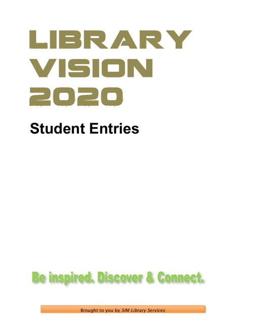 Library Vision 2020 (Student)