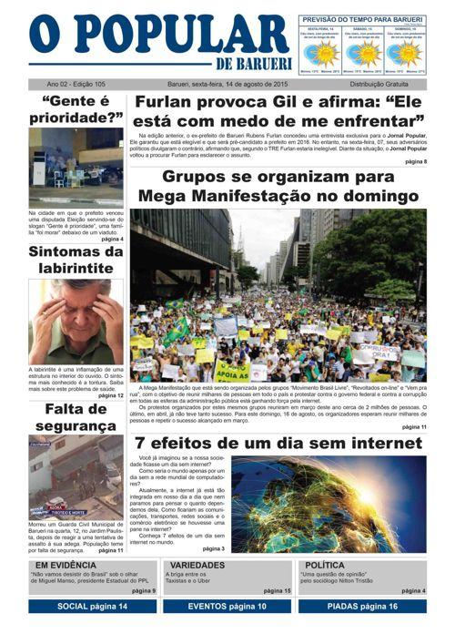 105ª edição do Jornal Popular de Barueri