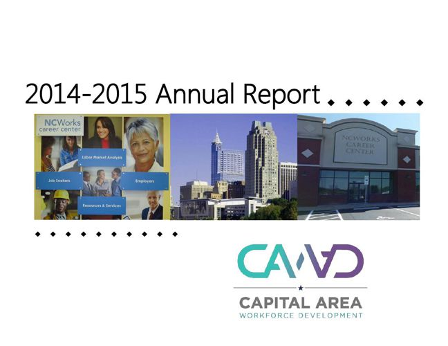 Capital Area Workforce Development Board 2014 Annual Report