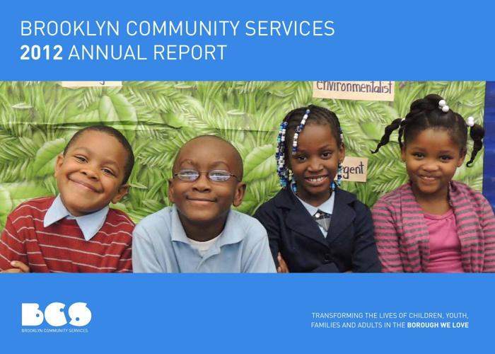 BCS ANNUAL REPORT 2012