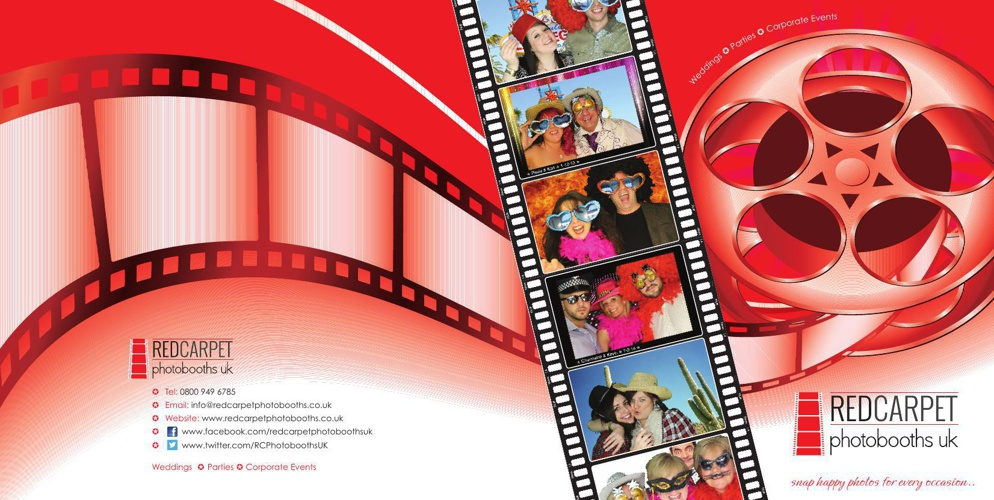 Red Carpet Photobooths Marketing Folder