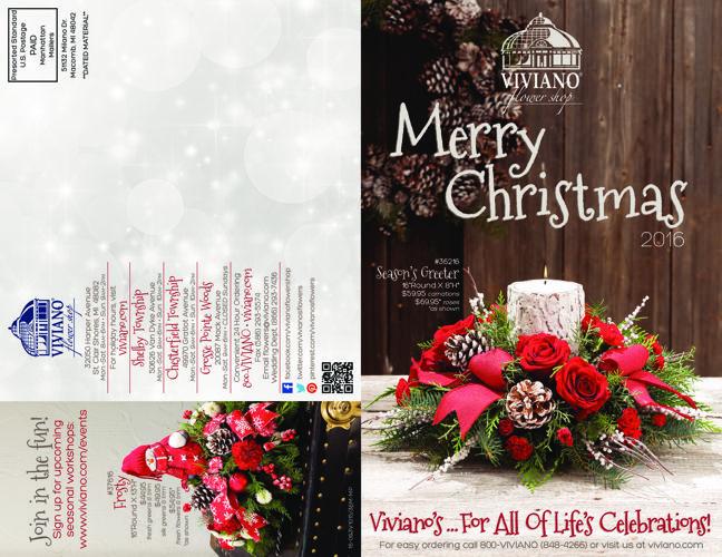Viviano Flower Shop Christmas Catalog 2016