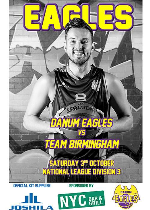 Danum Eagles vs Team Birmingham