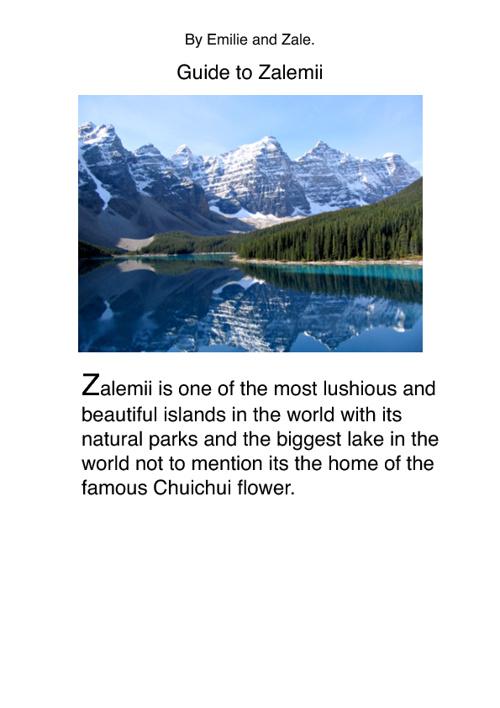 Guide to Zalemii
