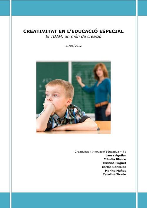 Creativitat en l'Àmbit del TDAH