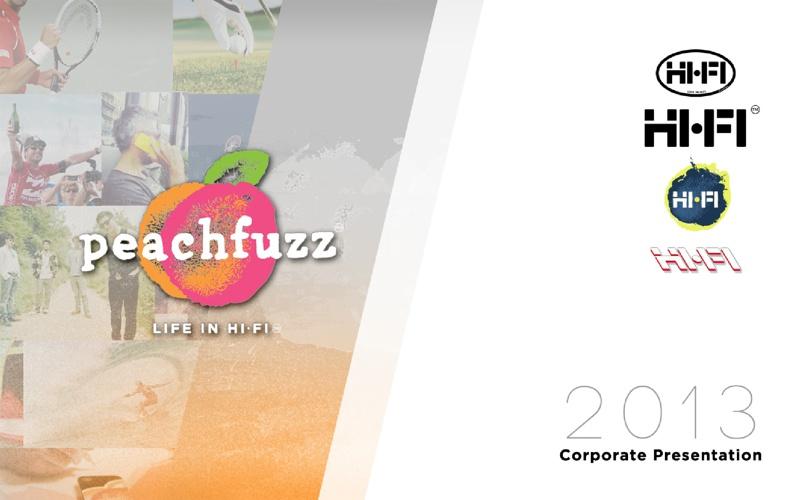 Peachfuzz Corporate Presentation