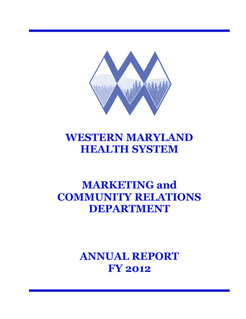 WMHS FY12 Annual Report