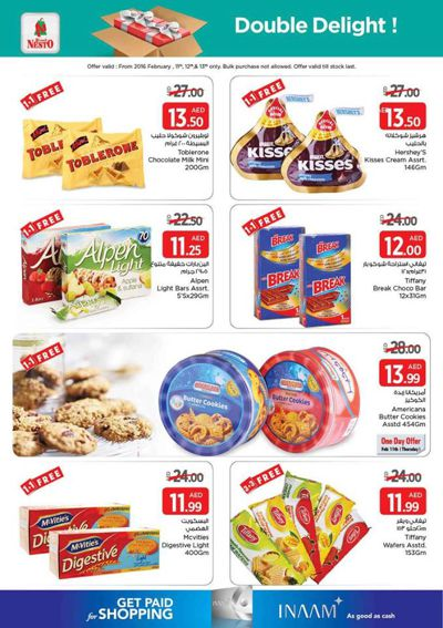 Nesto Hypermarket's Double Delight 1+1 FREE