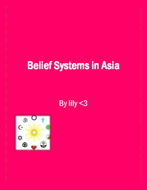 Lily's Religions and Belief systems is Asia Flipbook