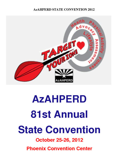 Target Your Zone AzAHPERD Convention
