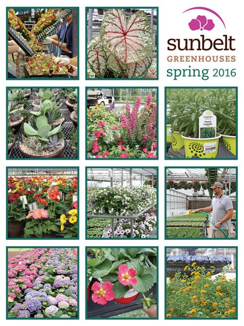 Sunbelt Greenhouses 2016 Spring Catalog