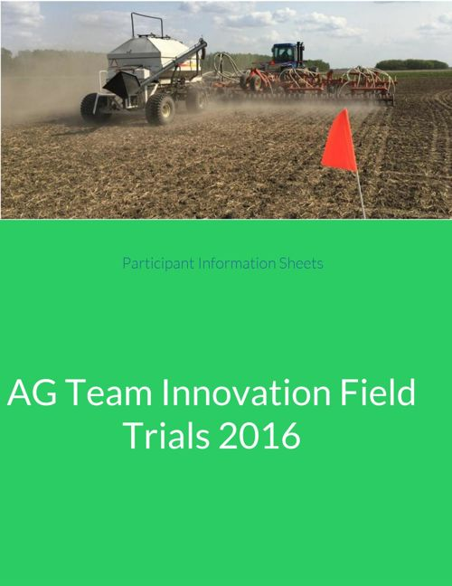 2016 AG Team Field Trials