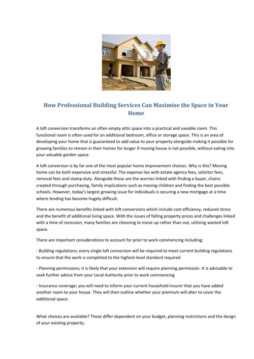 Professional Building Services