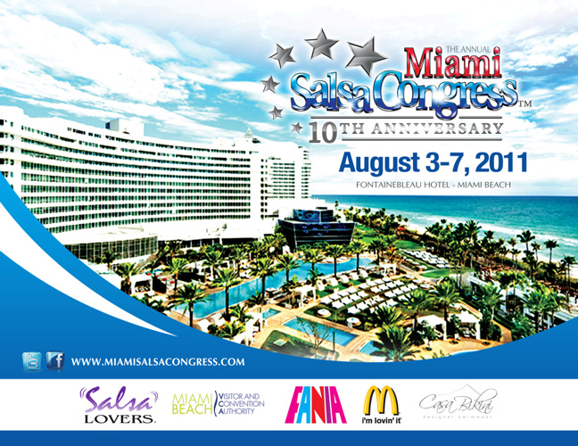 2011 Miami Salsa Congress Sponsor Package