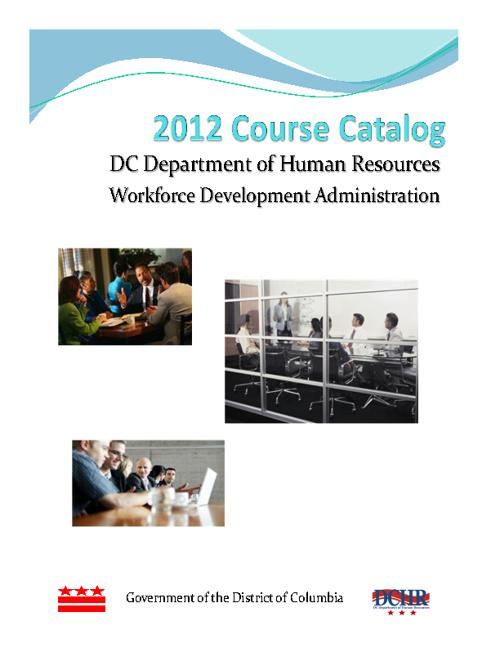 2012 DCHR Course Catalog