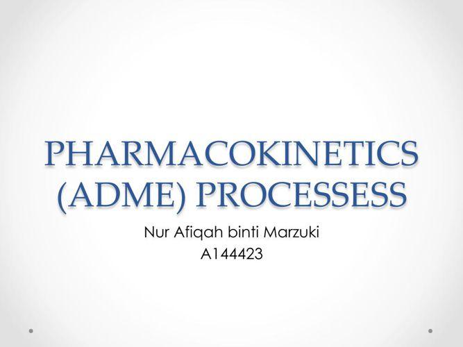 ADME processess