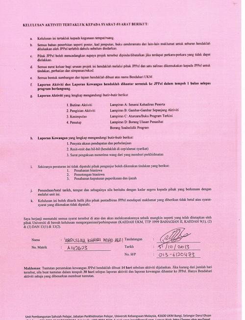 OPKIM_14 - Surat Kelulusan Program (Belakang)