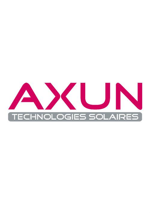 AXUN ONDULEURS PV & DISTRIBUTION FOND TRANSPARENT