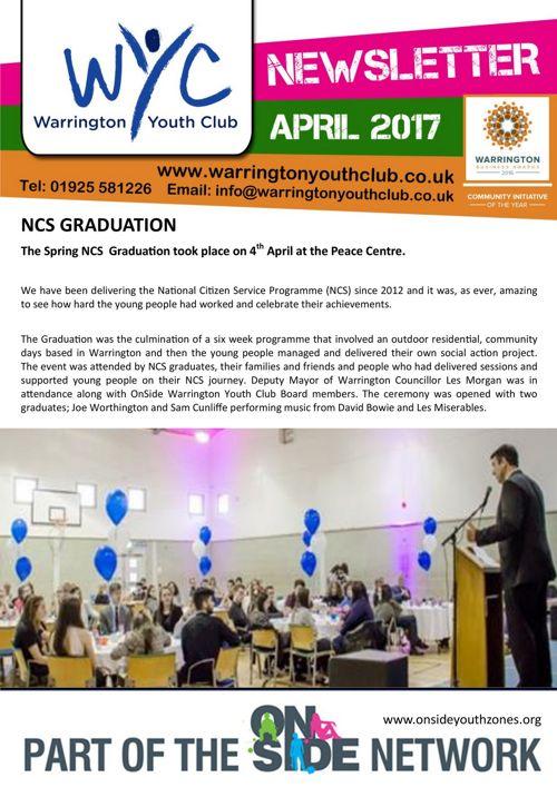 WYC Newsletter April 2017