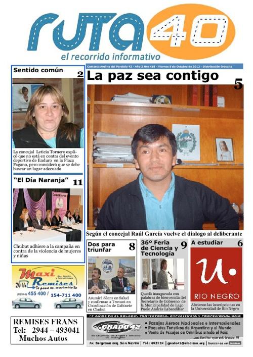 Diario Viernes 5 de Octubre