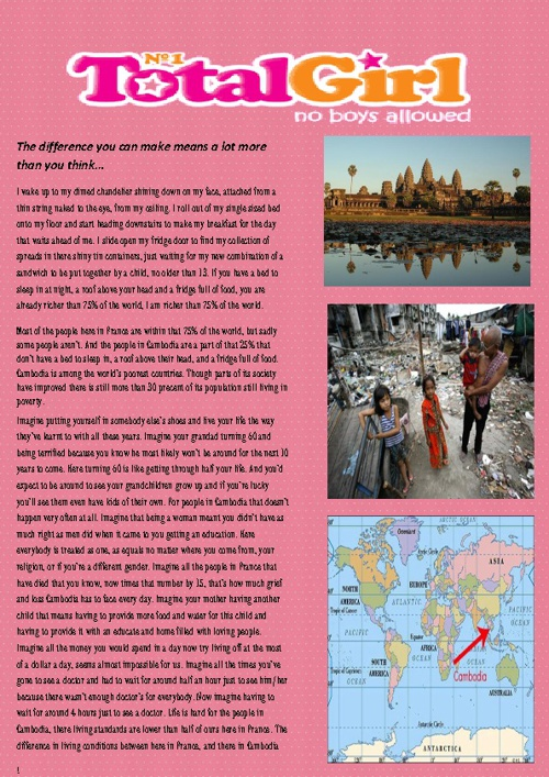 worlds apart research task