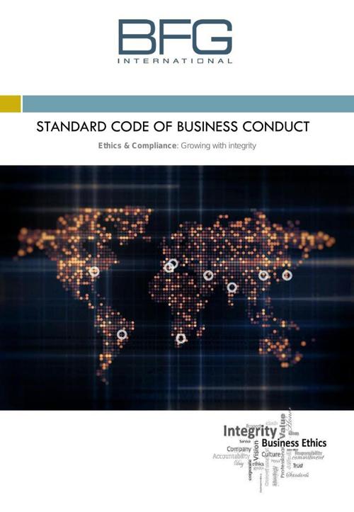 BFG Code of Ethics