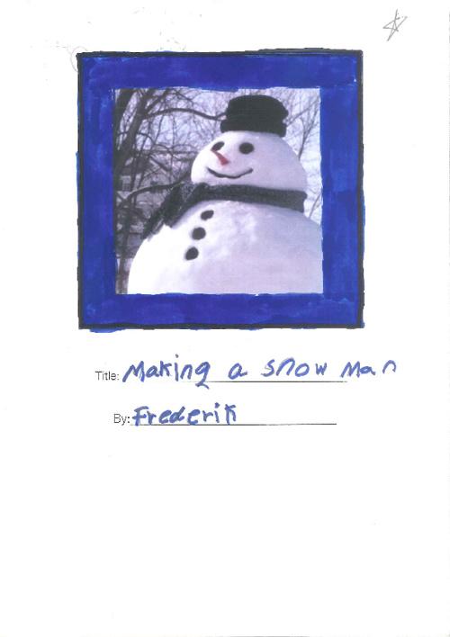 Snowman - Frederik 3F