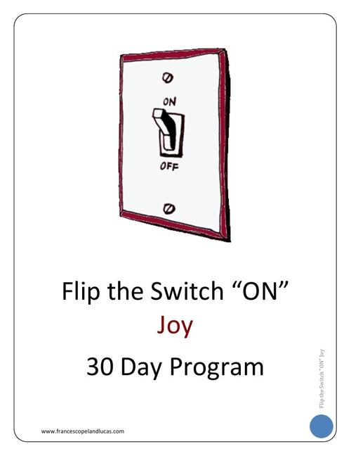 JOY - 30 Day Program Workbook - Chapter 1