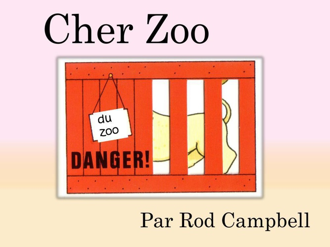 Cher Zoo par Rod campbell