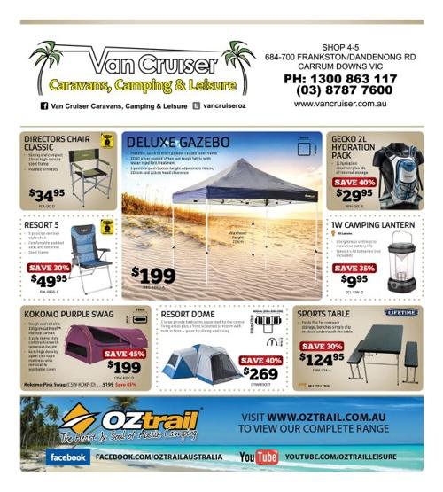 Oztrail November 2013 Catalogue
